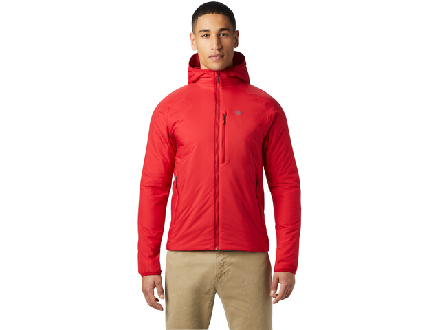 Mountain Hardwear Kor Strata Hooded Jacket Herre Racer
